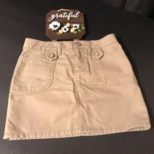Old Navy Light Green Mini Skirt